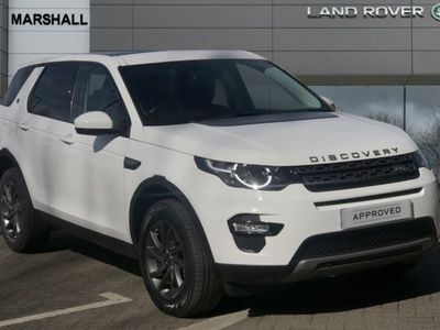 used Land Rover Discovery Sport 2.0 TD4 180 SE Tech 5dr Auto Station Wagon 2017