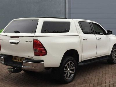 used Toyota HiLux 2.4D-4D Invincible Double Cab Pickup 2018