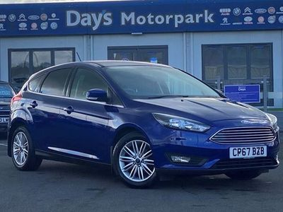 used Ford Focus 1.0 Ecoboost 125 Zetec Edition 5dr Navigation - Full Service History Manual