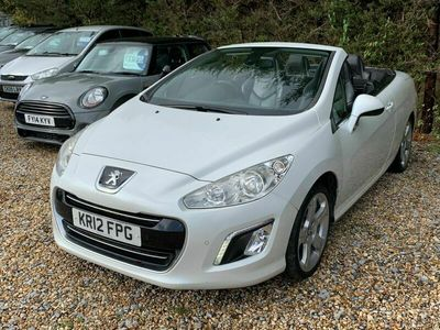 used Peugeot 308 CC 2.0 HDi FAP Allure 2dr