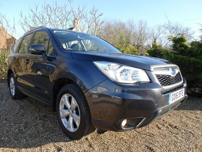 used Subaru Forester 2.0D XC 5dr