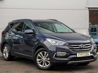 used Hyundai Santa Fe 2.2 CRDi Blue Drive Premium 5dr Auto [7 Seats]