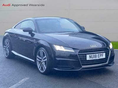 used Audi TT COUPE 1.8T FSI S Line 2dr