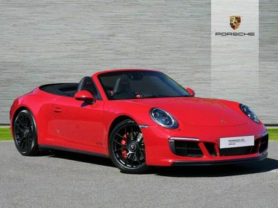 used Porsche 911 Carrera 4 Cabriolet GTS