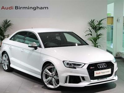 used Audi RS3 RS3 RS 3TFSI 400 Quattro 4dr S Tronic Saloon 2019