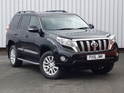 used Toyota Land Cruiser 2.8 D-4D Icon 5dr Auto 7 Seats