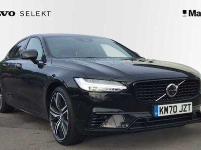 used Volvo S90 Recharge T8 Plug-in hybrid AWD R-Design Automatic, Climate, Lounge Tech, Power Seat & Driver Assist Packs, Pan Roof, 360 Cameras, Leather Trim