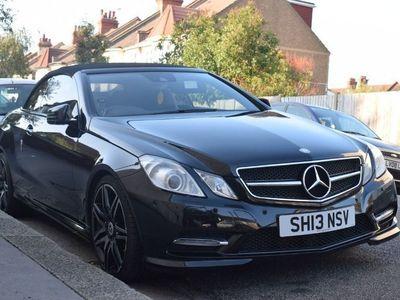 used Mercedes E350 E Class 3.0CDI BlueTEC AMG Line (Premium) Cabriolet 9G-Tronic Plus (s/s) 2dr