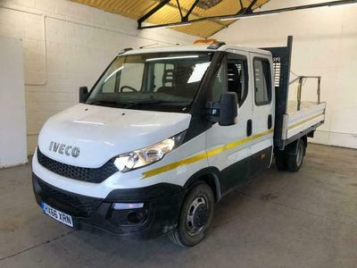used Iveco Daily 35C13 CREW CAB DROPSIDE TRW