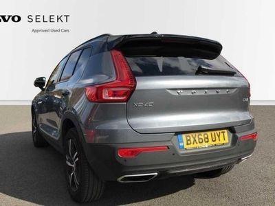 used Volvo XC40 XC40 2018 (68)D3 R-Design Automatic 2018
