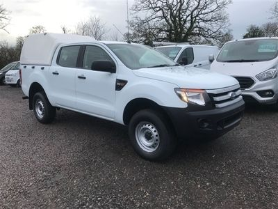used Ford Ranger XL 4X4 DOUBLE CAB TDCI LOW MILEAGE.