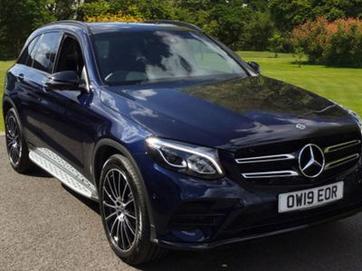 used Mercedes 220 GLC GLC4Matic AMG Night Edition 5dr 9G-Tronic