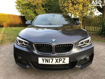 used BMW 218 2 SERIES D M Sport Start/Stop **£30 ROAD TAX** Manual Grey 2017