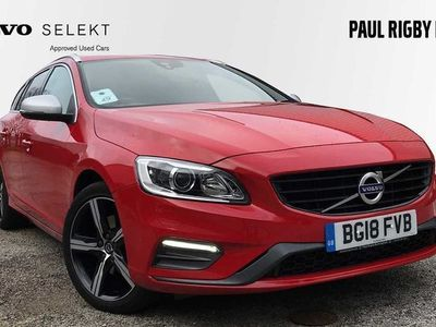 used Volvo V60 D3 R-Design Lux Nav Automatic 2.0 5dr