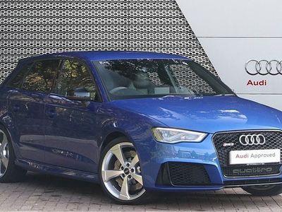 used Audi RS3 RS3 TFSIQuattro 5dr S Tronic [Nav] 2.5