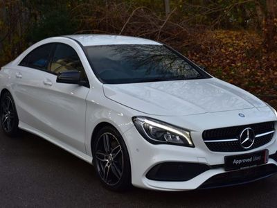 used Mercedes CLA220 CLAAmg Line 4Dr Tip Auto