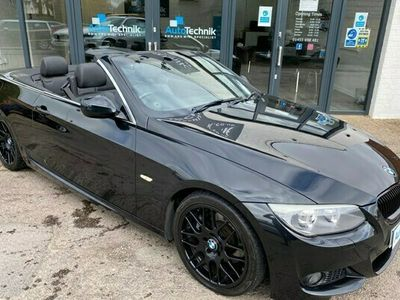 used BMW 330 3-Series Convertible d M Sport (2010) 2d Step Auto