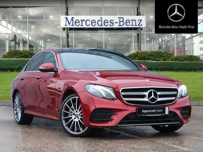 used Mercedes E400 E-Class4Matic Amg Line Premium 4Dr 9G-Tronic