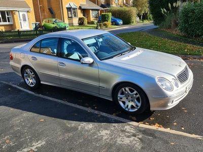 used Mercedes E320 E Class 3.2Avantgarde 4dr