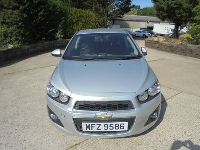 used Chevrolet Aveo 1.4 (100ps) LTZ (s/s) Hatchback 5d 1398cc
