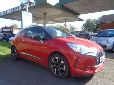 used DS Automobiles DS3 1.6 BLUEHDI ELEGANCE S/S 3d 98 BHP FREE ROAD TAX 12 MONTH MOT