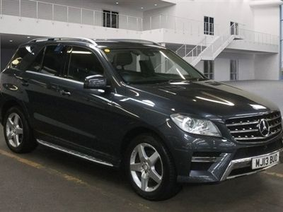 used Mercedes ML250 M-Class 2.1BLUETEC AMG SPORT 5d AUTO 204 BHP F/S/H-HEATED SEATS-SNSORS-LOW M