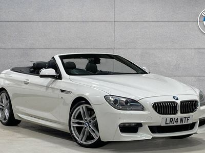 used BMW 640 d M Sport Convertible