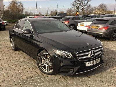 used Mercedes E350 E CLASS 2018 Ellesmere PortAMG Line 4dr 9G-Tronic