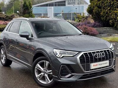 used Audi Q3 S line 35 TFSI 150 PS S tronic Estate
