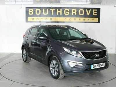used Kia Sportage 1.7 CRDI 2 ISG 5d 114 BHP 2 OWNERS WITH FSH-4 STAMPS