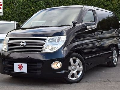 used Nissan Elgrand HIGHWAY STAR 2.5 V6 PETROL 53K MILES FSH FULLY SERVICED LEATHER INTERIOR