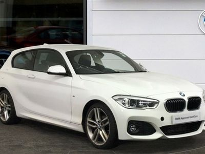 used BMW 118 1 Series d M Sport 3-Door Hatchback diesel hatchback