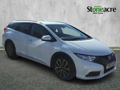 used Honda Civic I-Dtec Ex Plus Tourer 1.6 i-DTEC EX Plus Tourer 5dr Diesel Manual (103 g/km, 118 bhp)