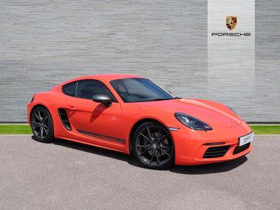 used Porsche 718 Cayman T 2-Door