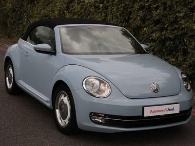 used VW Beetle Design 1.2 TSI 105PS Cabriolet