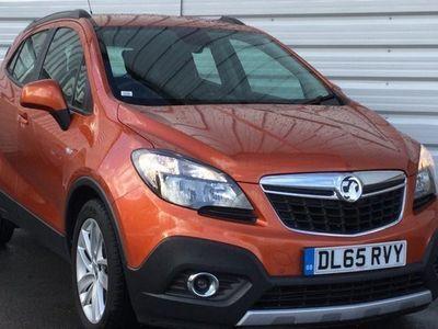 used Vauxhall Mokka 1.4T Exclusiv 5dr Orange Manual Petrol