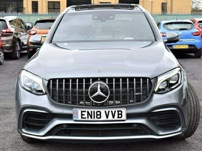 used Mercedes GLC63 AMG Glc Class 4.0V8 BiTurbo AMG S (Premium) SpdS MCT 4MATIC+ (s/s) 5dr