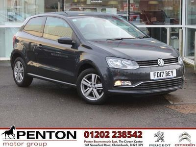used VW Polo 1.0 75 Match Edition 3Dr