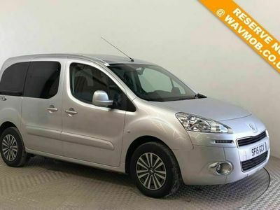 used Peugeot Partner Tepee Auto Wheelchair Accessible Disabled Access Ramp Car 5-Door Auto Wheelchair Accessible WAV