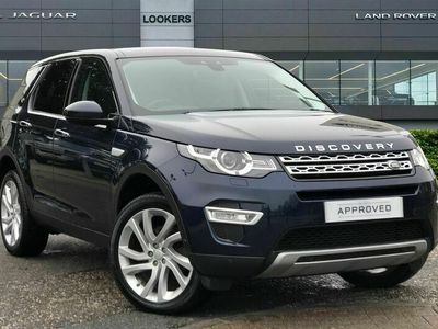 used Land Rover Discovery Sport DIESEL SW 2.0 TD4 180 HSE Luxury 5dr Auto