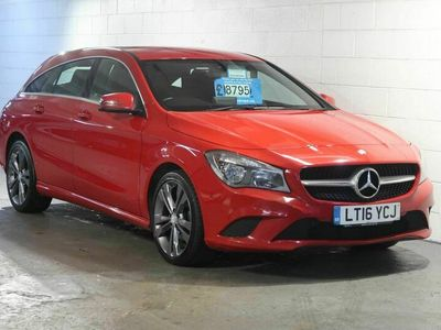used Mercedes CLA200 Shooting Brake Cla Class 2.1 Sport (s/s) 5dr