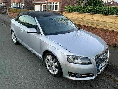 used Audi A3 Cabriolet 2.0 TDI Sport S Tronic 2dr