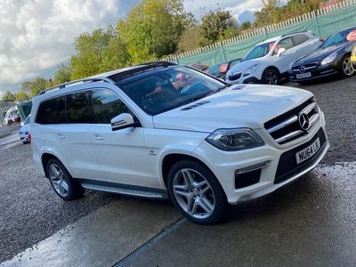 used Mercedes GL63 AMG GL Class 5.5AMG Speedshift Plus 7G-Tronic 4x4 5dr