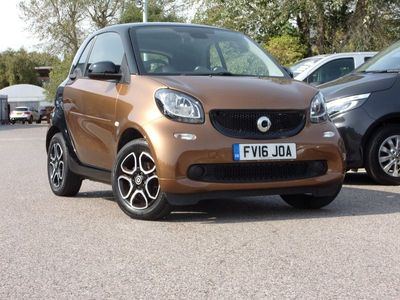 used Smart ForTwo Coupé coupe 1.0 Prime Premium 2dr 2016
