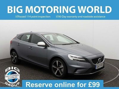 used Volvo V40 D4 R-DESIGN NAV PLUS Hatchback 2017