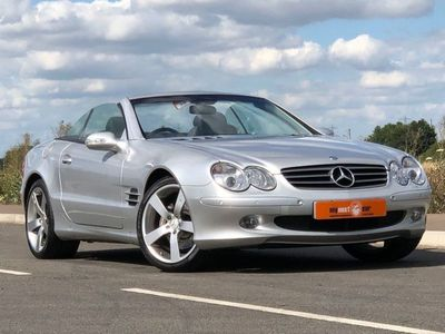 used Mercedes SL500 SL 5.02d AUTO 306 BHP DRIVES AND PERFORMS SUPERB