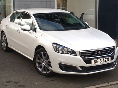 used Peugeot 508 5084Dr SAL 1.6 E-hdi 115 GT Line S/S