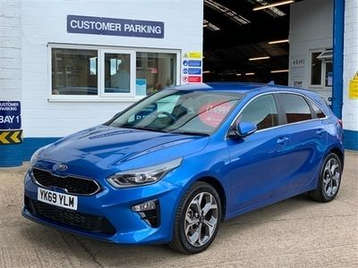 used Kia cee'd 1.4T GDi ISG Blue Edition 5dr, UNDER 1400 MILES, FANTASTIC VALUE FOR MONEY,