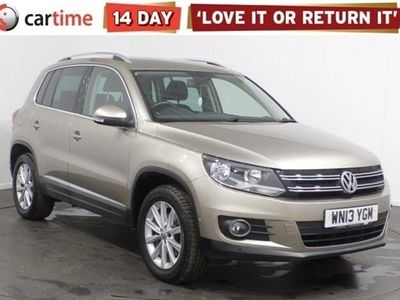 used VW Tiguan 2.0 SE TDI BLUEMOTION TECHNOLOGY 4MOTION DSG 5d 138 BHP Your dream car can become a reality with cartime's fantastic finance deals.