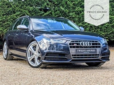 used Audi S6 S6 4.0AVANT TFSI QUATTRO 5d AUTO 444 BHP